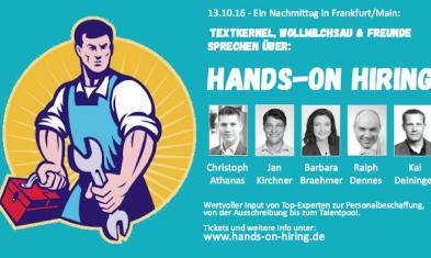 Hands-on Hiring 2016
