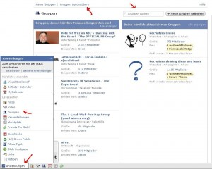 facebook gruppen 300x240 Personalsuche mit Facebook