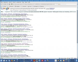 Xing Forumsuche mit Google