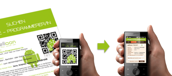 Mobile Tagging Mobile Recruiting mit Cellcodes (QR Codes)