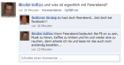 facebookFeierabendPX Social Media Guidelines in Unternehmen