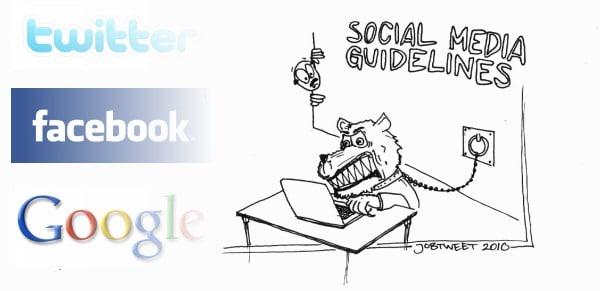 smg Banner Social Media Guidelines in Unternehmen