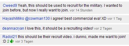 """Ein Glückstreffer - das """"Employer Branding Video"""" der US-Navy."""