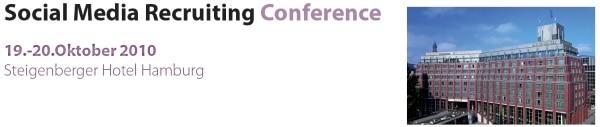 SMRC header Social Media Recruiting Conference 2010 in Hamburg