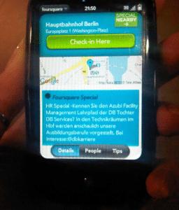 db hr 256x300 Foursquare Personalmarketing: HR Special bei der Deutschen Bahn