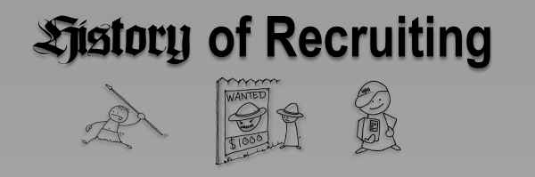 history header Infographic: The History of Recruiting
