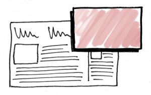 Struktur einer Popup-Ad