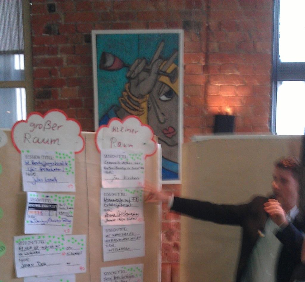 Sessionplan Das 1. HR Barcamp in Berlin (Rückblick)