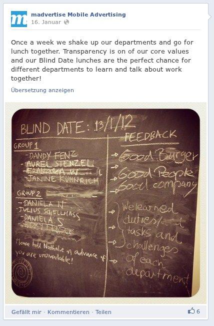 Employer Branding auf der Facebook Timeline