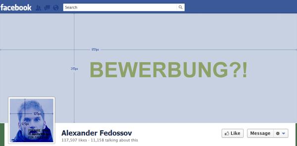Facebook Timeline Als Lebenslauf Zur Bewerbung Nutzen