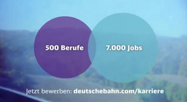 DBVorschau DB Kampagne mit großem Kaliber: Kein Job wie jeder andere