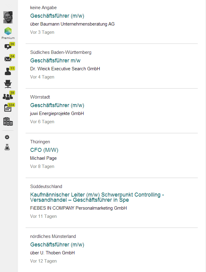 xing matching Semantische Jobsuche mit Truffls.de