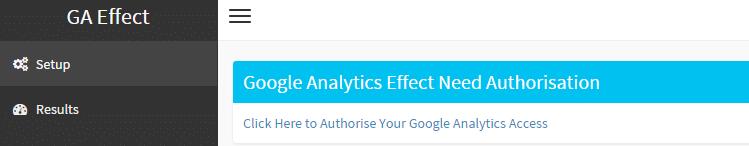 Mit GA Effect lässt sich die statistische Signifikanz von Veränderungen überprüfen.