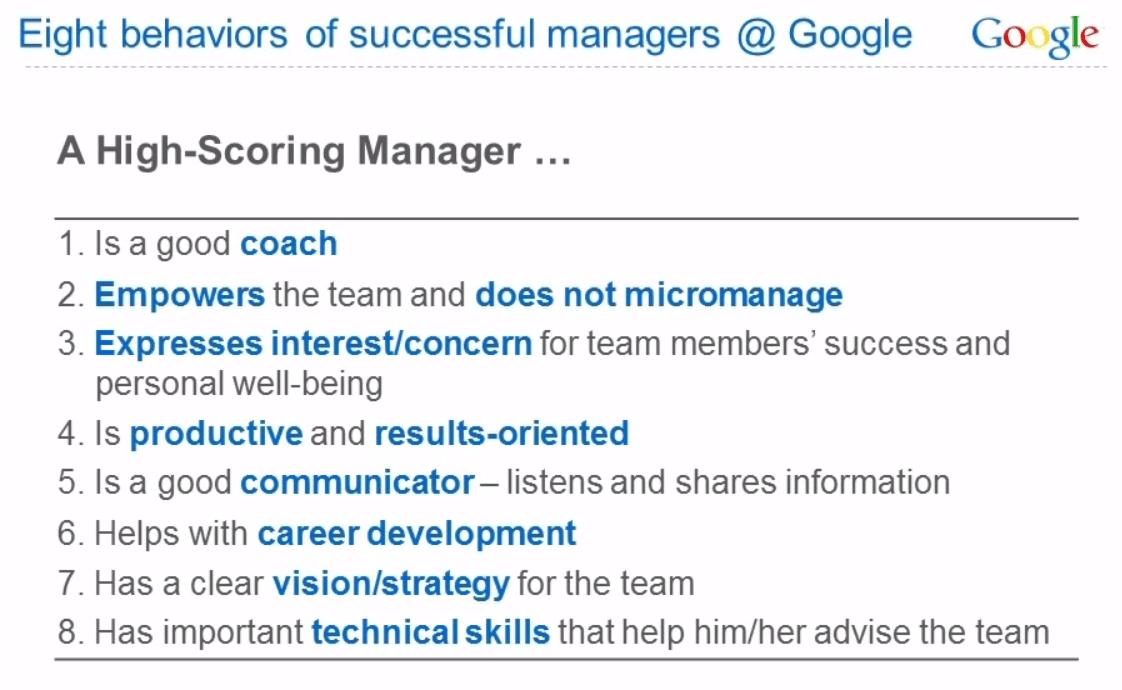 8 Eigenschaften erfolgreicher Google Manager