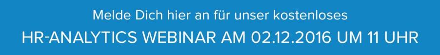 Jetzt am HR-Analytics Webinar teilnehmen!