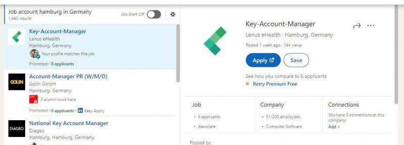 LinkedIn Jobs - Kostenlos Stellenanzeigen schalten