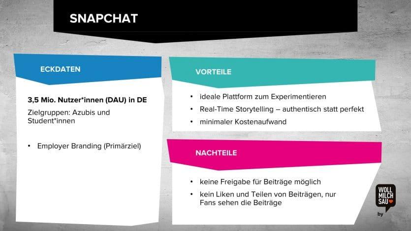 Social Media Recruiting Snapchat