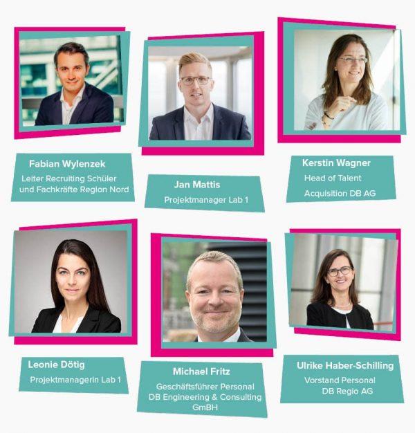 HR-Zukunftslab: Darstellung des Lab 1 Lead-Teams