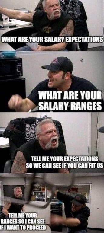 Gehaltstransparenz Meme 1